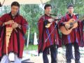 Национальный индейский музыкальный коллектив на праздник в Москве