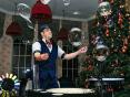 Шоу мыльных пузырей недорого Москва