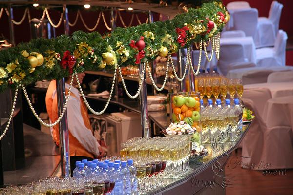 Новогодний корпоратив в Москве