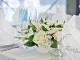 Оформление столов на свадьбу