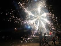 Огненное шоу на праздник в Москве
