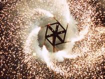 Огненное шоу на выпускной в Москве