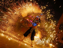Огненное шоу на праздник Москва