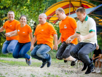 Организация тимбилдинга в Москве
