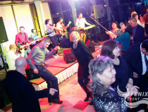 Музыкальная кавер-группа на мероприятие Москва. Церемония награждения почётных граждан стран Таможенного союза 13 декабря 2015.