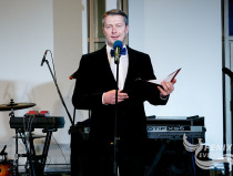 Профессиональный ведущий в Москве. На Церемонии награждения почётных граждан стран Таможенного союза 13.12.2015.