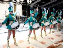 Заказать ансамбль барабанщиц на праздник Москва