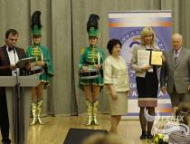 Мажоретки и барабанщицы Москва на награждении номинантов форум Здравница 2015