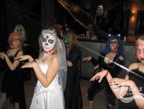 Танец мертвых невест на хэллоуин Москва