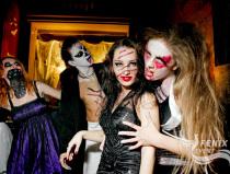 Вечеринка хэллоуин в клубе Москва