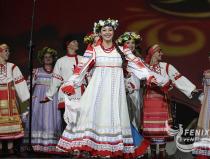 Академический хор русской песни Песни России на фестивале в честь дня Победы