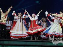 Академический хор Русской песни Песни России на фестивале в честь празднования 70-летия дня победы