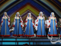 Академический хор Русской песни Песни России на фестивале в честь празднования в Китае 70-летия дня Победы