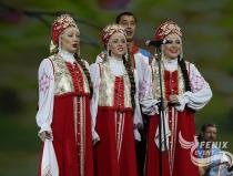 Академический хор Русской песни Песни России на Фестивале в честь укрепления российско-китайской дружбы