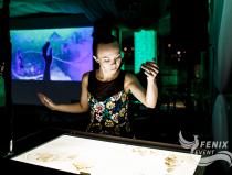 Песочное шоу на день рождения, мероприятие, праздник Москва