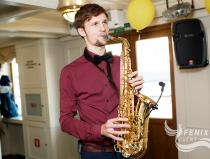 Саксофонист на велком, праздник, юбилей Москва