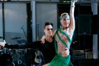 Танцевальный дуэт на церемонии награждения почётных граждан стран Таможенного союза 13.12. 2015 в Москве.