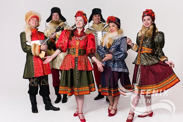 Русский народный ансамбль заказать на праздник Москва