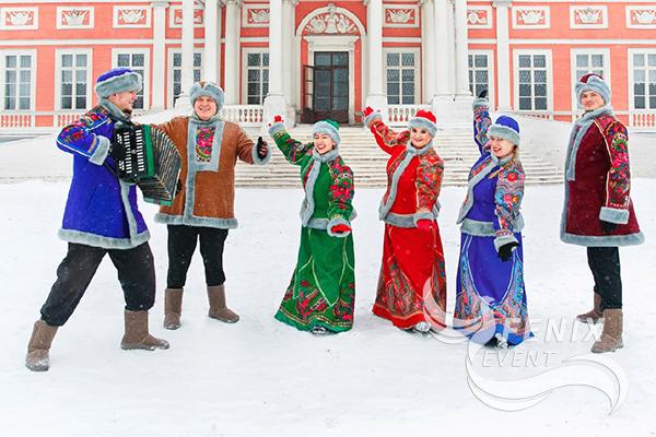Фольклорный русский ансамбль на юбилей и свадьбу в Москве