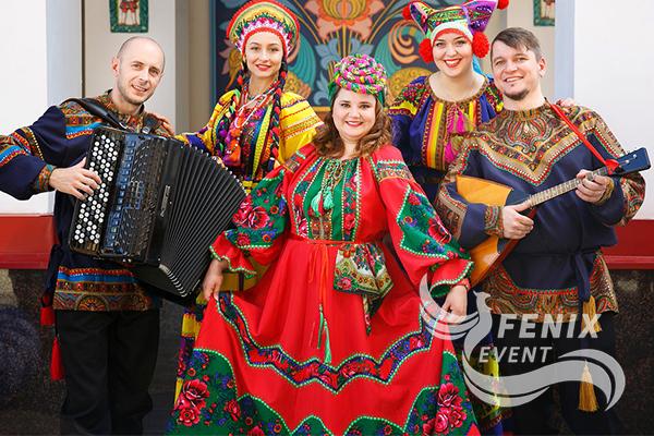 Русский ансамбль на праздник в Москве