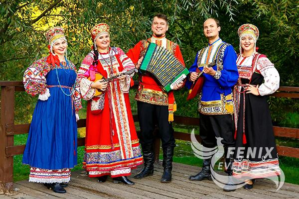 Заказать фольклорный русский ансамбль на праздник в Москве