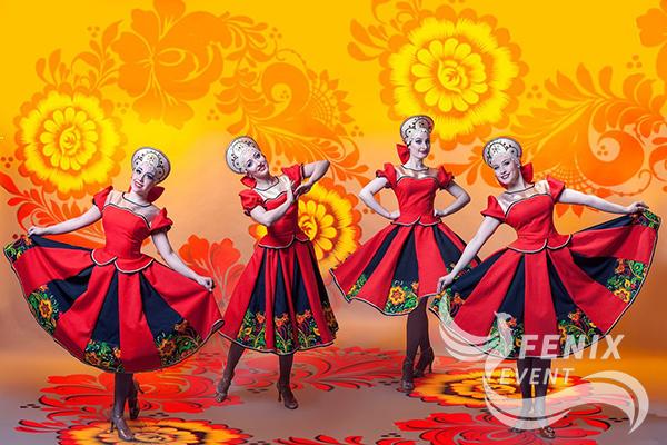 Заказать ансамбль русского народного танца на праздник, свадьбу, корпоратив Москва