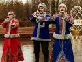 Русский народный ансамбль на масленицу в Москве