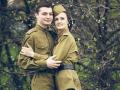 Русский ансамбль на День Победы