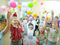 Шар сюрприз на детский праздник в Москве
