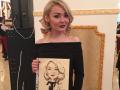 Шаржист на свадьбу в Москве