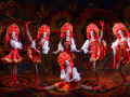 Танцевальный шоу балет в русском народном стиле