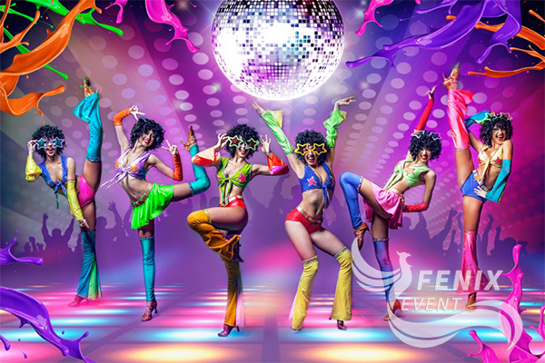 Танцевальный шоу балет на праздник, свадьбу Москва