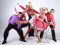 Шоу-балет с номером Стиляги