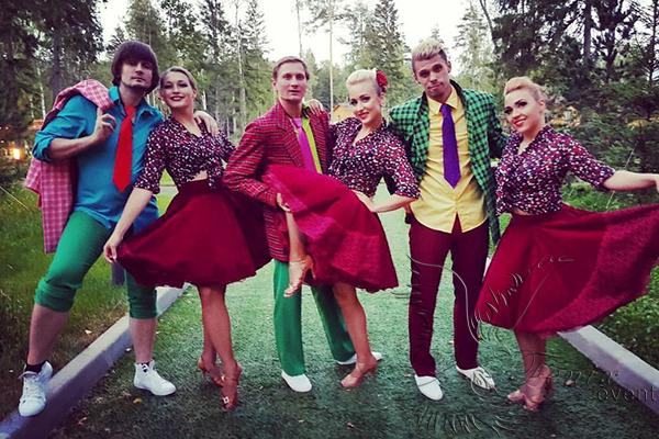 Танцевальный коллектив на мероприятие Москва