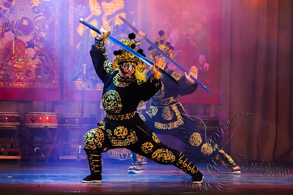 Китайское шоу Кунг Фу в Москве