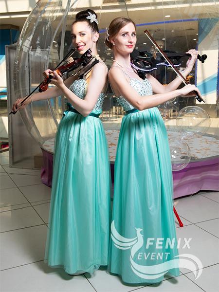 Скрипичный дуэт на праздник, юбилей, мероприятие Москва