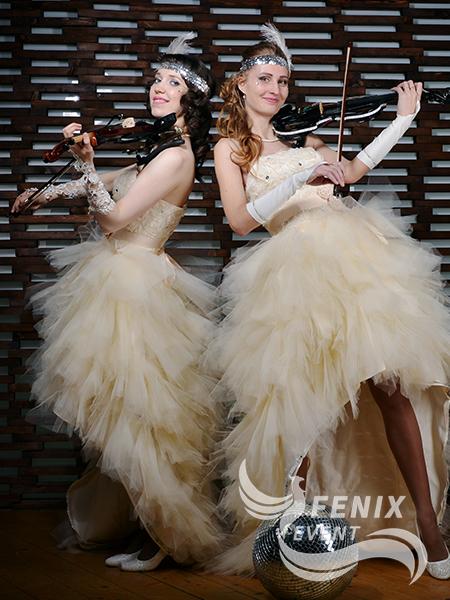 Скрипичный дуэт заказать на праздник, свадьбу, корпоратив Москва