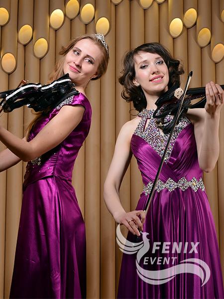Заказать скрипичный дуэт на праздник, свадьбу, корпоратив Москва