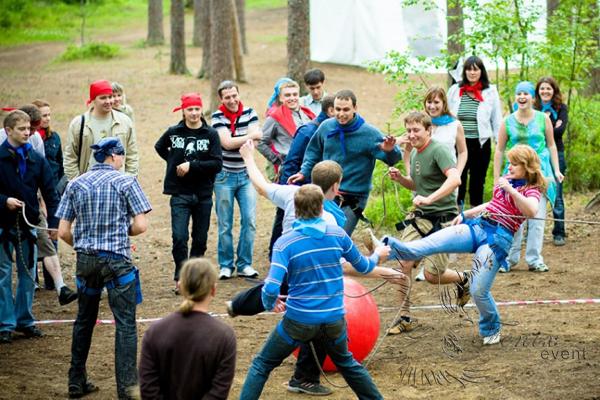 Спортивный тимбилдинг в Москве