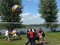 Спортивный тимбилдинг в Подмосковье - гигантский волейбол