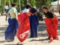 Спортивный тимбилдинг - гонки в мешках