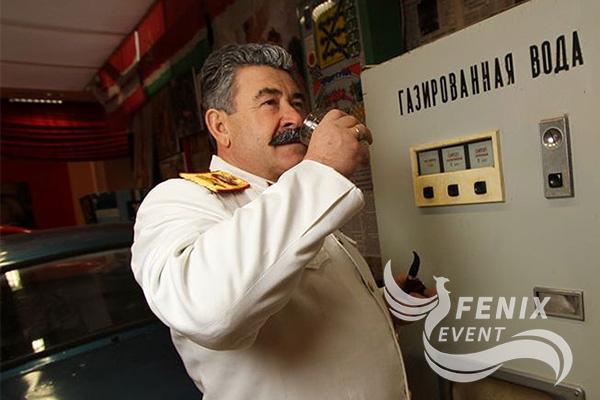 Двойник Сталина на мероприятие в Москве