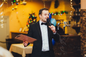 Креативный ведущий на свадьбу недорого в Москве.