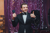 Стильный ведущий на свадьбу, юбилей, корпоратив в Москве.