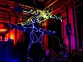 Акробатическое световое шоу на свадьбу, юбилей, корпоратив
