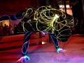 Световое акробатическое шоу на праздник Москва