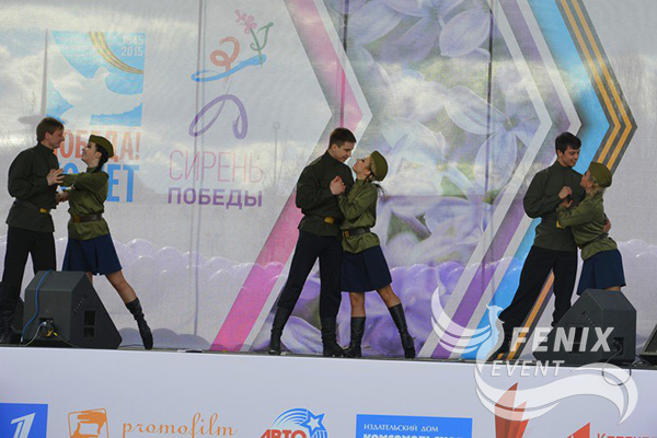 Танцоры на 23 февраля и 9 мая Москва