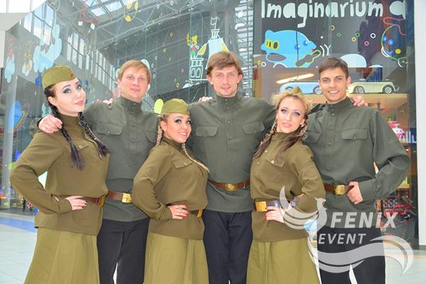 Заказать танцевальный коллектив с военной программой Москва