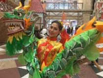 Танец с маленькими драконами в Москве