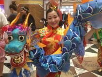 Заказать китайский танец с драконами в Москве